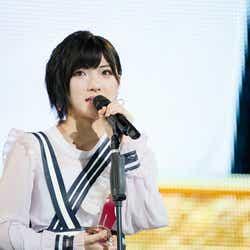 """モデルプレス - AKB48岡田奈々、涙の初""""神7""""「自信を持ってオタク人生を貫いて」<第10回AKB48世界選抜総選挙>"""