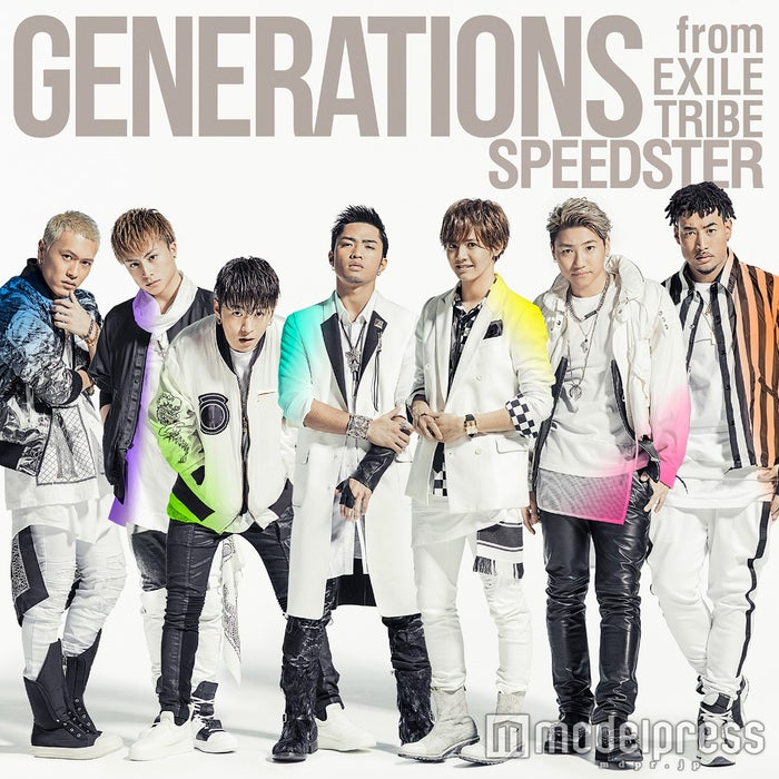 GENERATIONS from EXILE TRIBEアルバム「SPEEDSTER」(3月2日発売)通常盤