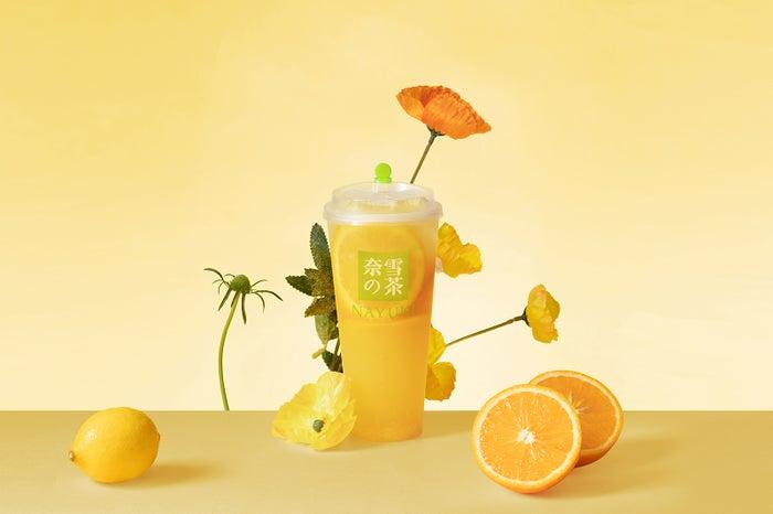 奈雪オレンジジャスミン(Cold700円/Hot750円)/画像提供:品道