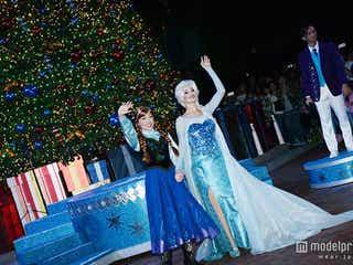 アナ&エルサのツリー点灯式が幻想的!香港ディズニーランドのクリスマス<10周年イベント現地レポ>