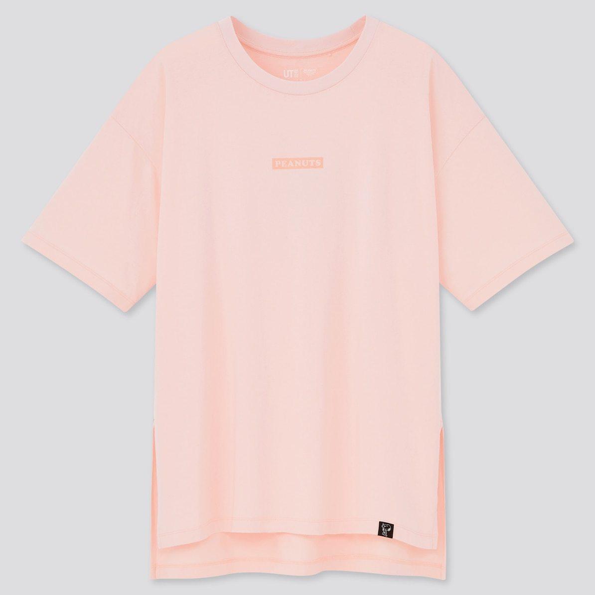 ユニクロ UNIQLO UT Tシャツ ユーティー スヌーピー ピーナッツ SNOOPY PEANUTS ヴィンテージ VINTAGE コラボ 新作 トップス おすすめ レディース 女性 ピンク