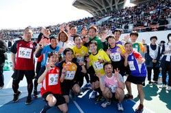 パラ駅伝参加選手「にゃー」/提供:日本財団パラリンピックサポートセンター