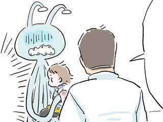 え、川崎病!?発熱から、まさかの即入院となったあの日…【エイリアン育児日誌】