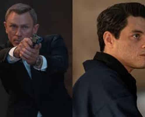 『007/ノー・タイム・トゥ・ダイ』ダニエル・クレイグ&ラミ・マレックの2ショット日本独占ロングインタビュー映像解禁!