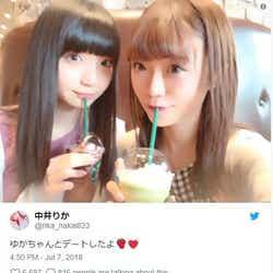 """モデルプレス - NGT48荻野由佳、中井りかとの""""噂""""に言及「炎上ばっかしてるけど…」"""