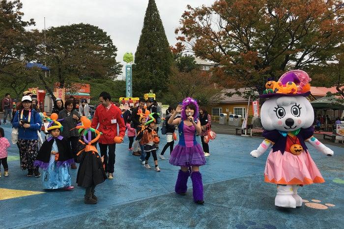 ハロウィンキッズパレード/画像提供:よみうりランド