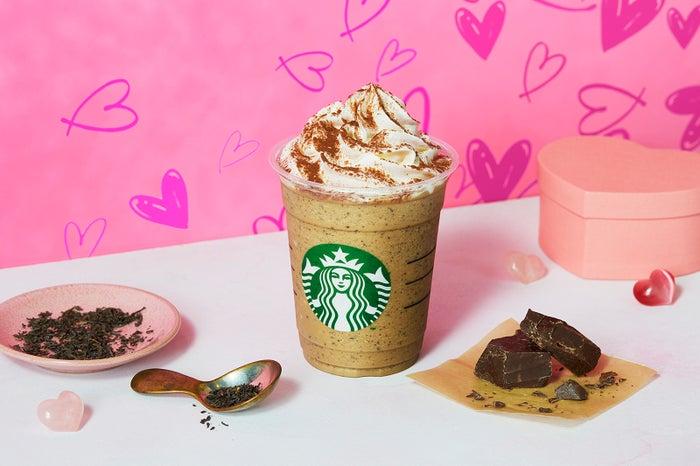 1月31日(金)から登場するチョコレート with ミルクティー フラペチーノ/画像提供:スターバックス コーヒー ジャパン