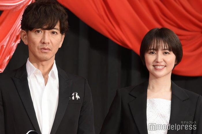 映画「マスカレード・ナイト」公開直前イベントに出席した木村拓哉、長澤まさみ(C)モデルプレス