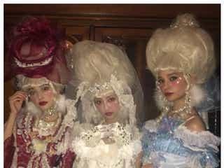 玉城ティナ&中村里砂&瑛茉ジャスミンら、ロリータ姿に「リアルお人形さん」「二次元」の声