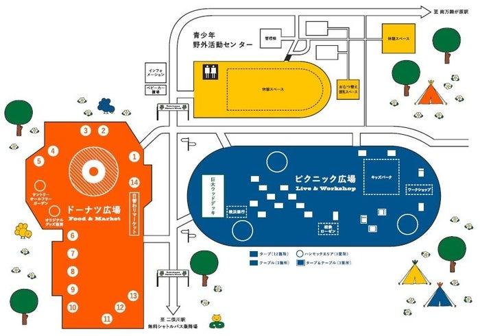 会場マップ/画像提供:相鉄グループ