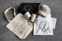 イラストレーター長場雄氏コラボグッズ/画像提供:ストライプインターナショナル