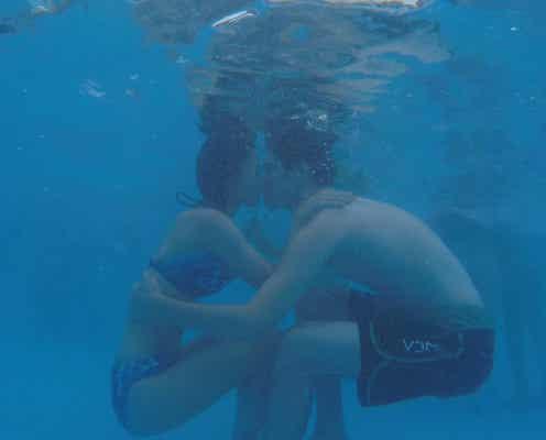 【新テラスハウス】水着で水中キス!田森美咲&バーンズ勇気カップル「もう1人じゃない」 全員で涙の卒業