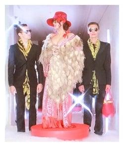 「ダウンタウンDX」で私服を公開した叶恭子/叶姉妹オフィシャルブログ(Ameba)より