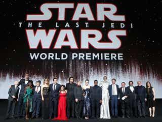 「スター・ウォーズ/最後のジェダイ」世界初上映、ファンの反応は?ワールドプレミアに豪華キャスト集結