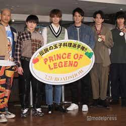 (左から)関口メンディー、佐野玲於、片寄涼太、鈴木伸之、町田啓太、清原翔(C)モデルプレス