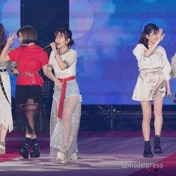 Little Glee Monster、会場圧倒の10分間 「陸王」劇中歌「Jupiter」も熱唱<GirlsAward 2018 S/S >