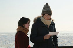 藤井武美、古川雄輝(C)「風の色」製作委員会