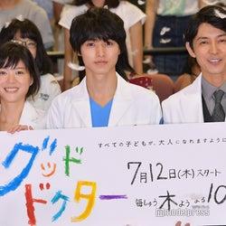山崎賢人主演「グッド・ドクター」第5話視聴率で自己最高 フジ木10枠4年ぶり快挙