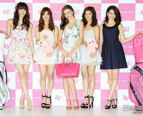 E-girlsの4人が「CanCam」「JJ」「Ray」の専属モデルに抜擢