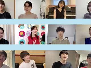 佐野勇斗ら、新垣結衣誕生日に動画公開 「くちびるに歌を」キャスト再集結