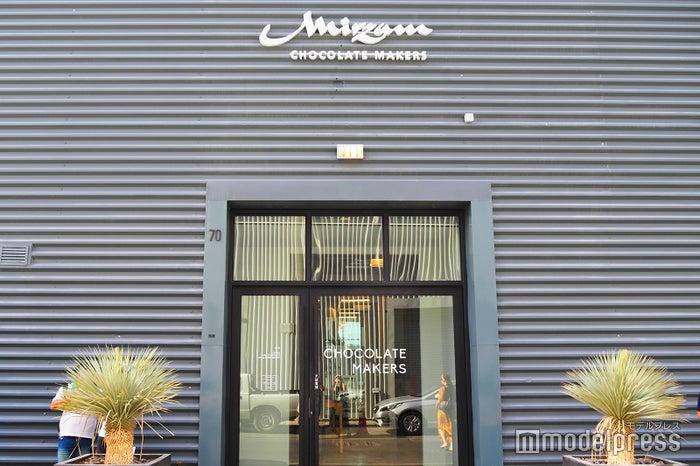 もともと工場の跡地だった場所のため、Mizramの外観も工場の面影が残る(C)モデルプレス