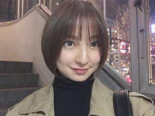 篠田麻里子、ばっさりショートに反響「最強に可愛い」「やっぱりショートが似合う」