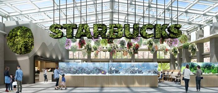植物園では日本初出店となるスターバックス/画像提供:よみうりランド
