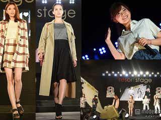 黒田エイミ、宮田聡子ら人気モデルが夜のランウェイで競演 MACOも切ない歌声を響かせる<写真特集>