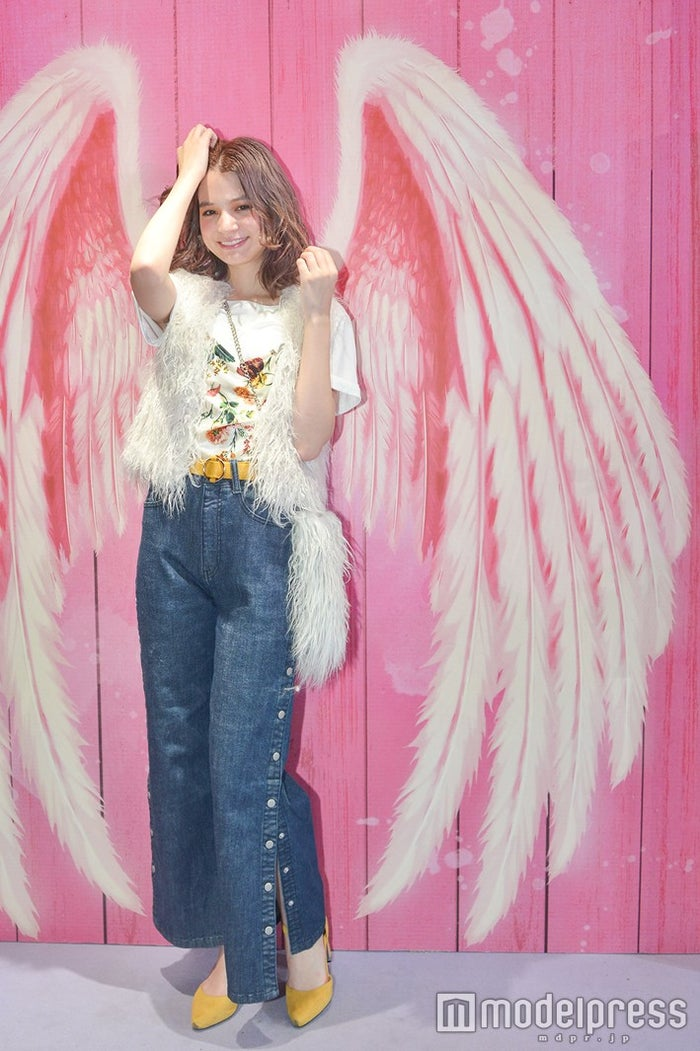 ブースには天使のフォトスポットも/瑛茉ジャスミン(C)モデルプレス