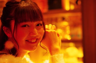 「non-no」松川菜々花、ほろ酔い姿が可愛い 初めてのお酒はファンの前で