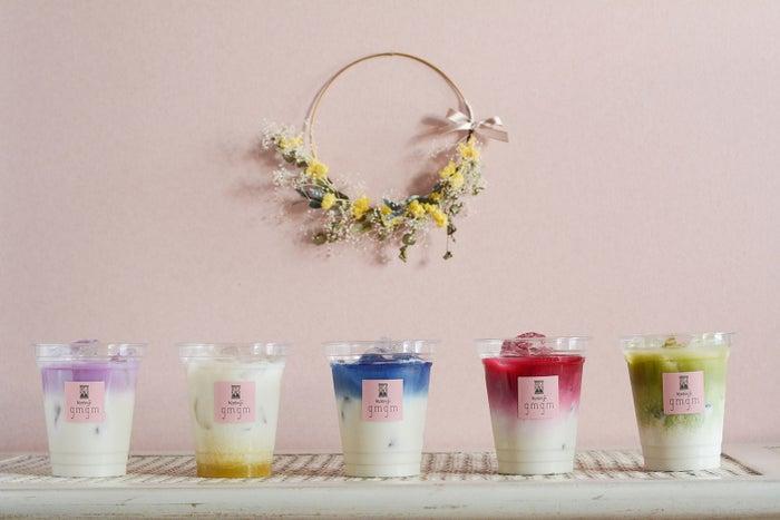 花カフェ「グムグム」高円寺にオープン 食用花を使ったフード&ドリンクを提供/画像提供:株式会社FABTONE