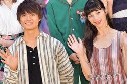 佐野勇斗、中条あやみに初対面で「I love you」 台風の中黄色い歓声飛び交う<3D彼女 リアルガール>