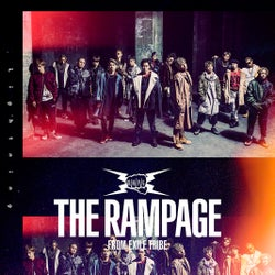 THE RAMPAGE from EXILE TRIBEデビューシングル「Lightning」ジャケット写真(提供写真)