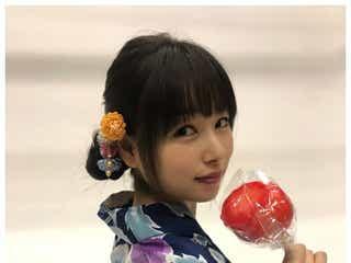 桜井日奈子、浴衣で振り返りショットに「可愛すぎ」と絶賛の声