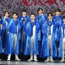 "Snow Man、2年ぶり舞台「滝沢歌舞伎ZERO 2021」開幕 ""青衣装""で一新「医療従事者の皆様へ感謝とエールを込めて」<取材全文>"