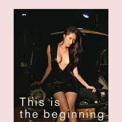染谷有香、初ヘアヌード写真集「This is the beginning」(提供写真)