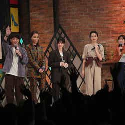 陣内智則、滝沢カレン、西野七瀬、長谷川京子、田中みな実 (提供写真)
