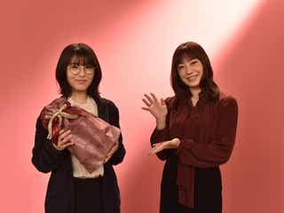 浜辺美波、現場でのサプライズに驚き 菅野美穂が成人祝福<ウチの娘は、彼氏が出来ない!!>