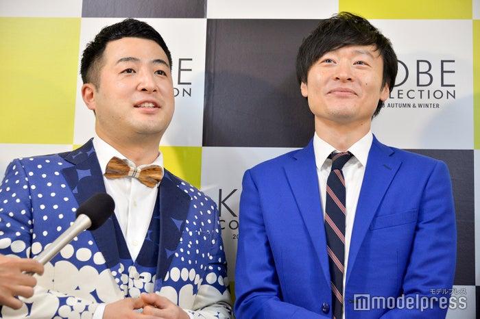 みちょぱに「ドラえもんみたいで可愛い」と言われていたオリジナル衣装/和牛・水田信二、川西賢志郎 (C)モデルプレス