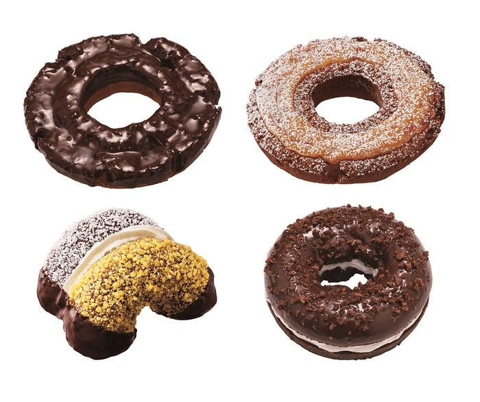 ミスド「夢のドーナツ」人気の4種が新生地になって復活/画像提供:ダスキン