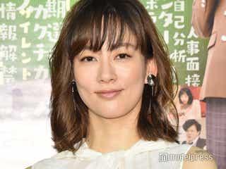 水川あさみ「結婚してすみません」結婚後初現場で婚活女子に<シューカツ屋>