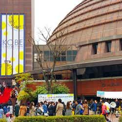 「神戸コレクション2015SPRING/SUMMER」会場周辺の様子