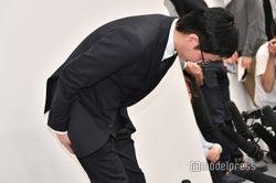 AAA浦田直也、謝罪会見 活動自粛を発表