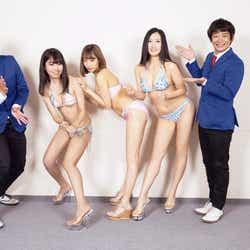 ミスFLASH&銀シャリ(C)光文社/FLASH ダイアモンド  写真:岩松喜平