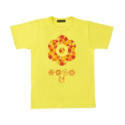 「24時間テレビ40」チャリTシャツ黄色(画像提供:日本テレビ)