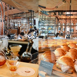 中目黒「スターバックス リザーブ ロースタリー 東京」公開、焙煎所・ベーカリー・テラス併設の日本初業態カフェに潜入