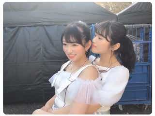 NMB48吉田朱里&渋谷凪咲、バックハグでのイチャイチャ動画に「可愛すぎて悶絶」「なぎリン最高」の声