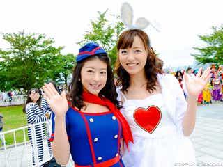 生野陽子らフジ女子アナも仮装で魅了 エビ中&超特急&ピコ太郎…ハロウィンパレードに豪華集結