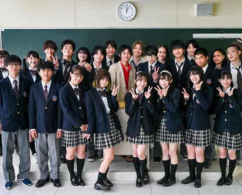 THE RAMPAGE長谷川慎、HKT48矢吹奈子ら、神尾楓珠主演「顔だけ先生」生徒役に次世代スター集結