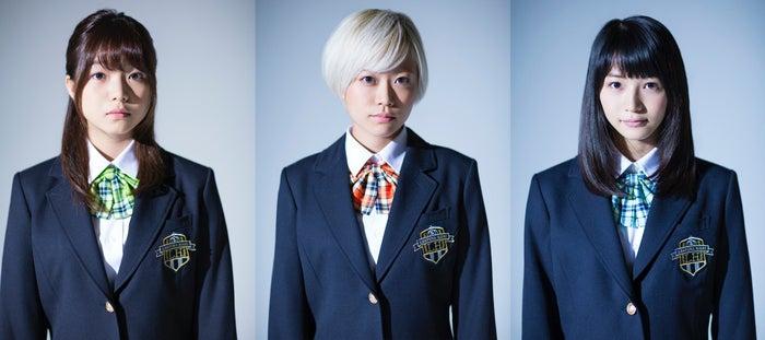 (左から)村田寛奈、林愛夏、傳谷英里香(写真提供:所属事務所)